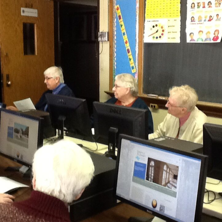CSJs Attend Classes and Enter Cyberspace