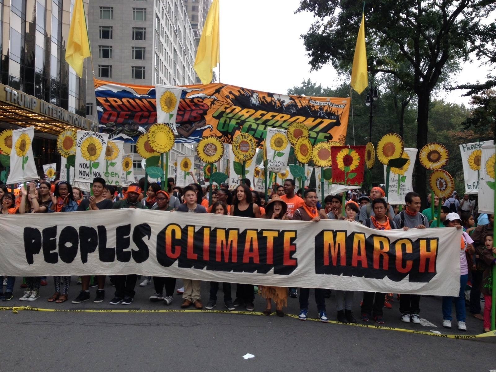 CSJs at the People's Climate March