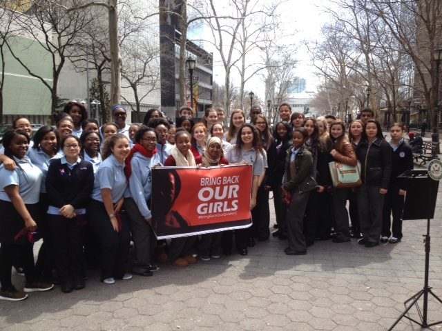CSJ Students Say Bring Back Our Girls