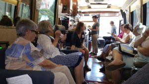 nuns seated in the bus