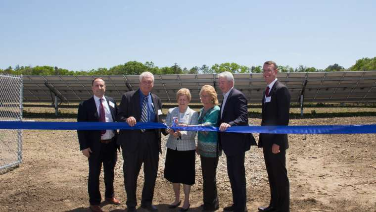 Celebrating New Solar Array and Sustainable Rain Garden at Sisters of St. Joseph Campus